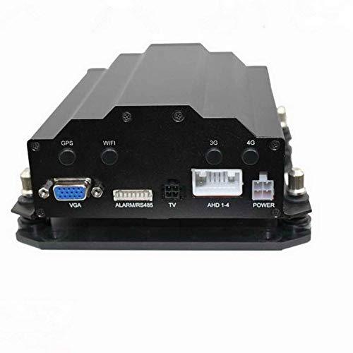 Lynn025Keats Hohe Qualität DH40 4-Kanal-HD AHD Festplatte Auto-Recorder Audio Surveillance Kit