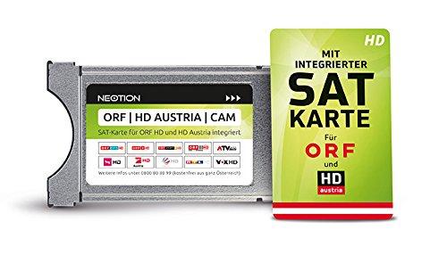 ORF | HD Austria | CAM TV Modul mit SAT-Karte für ORF und HD Austria