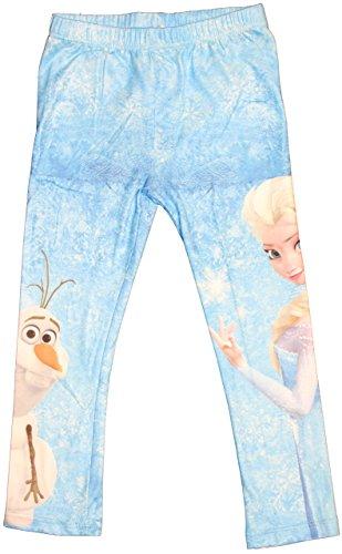Disney frozen leggings in vari colori e taglie hellblau 5 anni