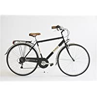 Bicicleta BC Cascioli Via Veneto Man acero Size 50 – The Original – Made in Italy