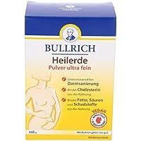 Bullrich Heilerde Pulver ultra fein | zur inneren und äußeren Anwendung | Hilfe bei Akne, Muskelbeschwerden, Magen-Darm... preisvergleich bei billige-tabletten.eu