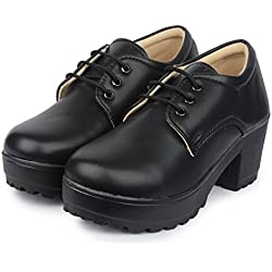 Do Bhai Sneaker Boot Chic Smart Casual Sneakers Shoes For Womens (Euro38, Black)