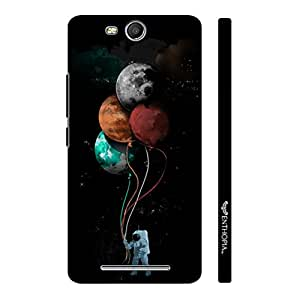 Micromax Canvas Juice 3 Q392 Astronauts Toys designer mobile hard shell case by Enthopia
