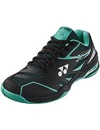 Yonex - Zapatillas de Squash y bádminton de Sintético para Hombre Negro/Verde Menta