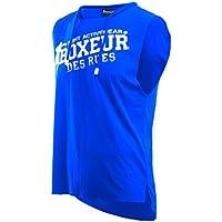 Boxeur Des Rues Serie Fight Activewear, Canotta Uomo, Royal, M