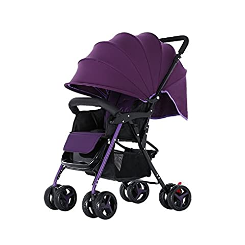 E-Baby Cart Can Sit Can Lie Down Baby Umbrella Car