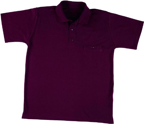 Leiber Polo Shirt 1/2 Arm Damen & Herren XXXL Bordeaux
