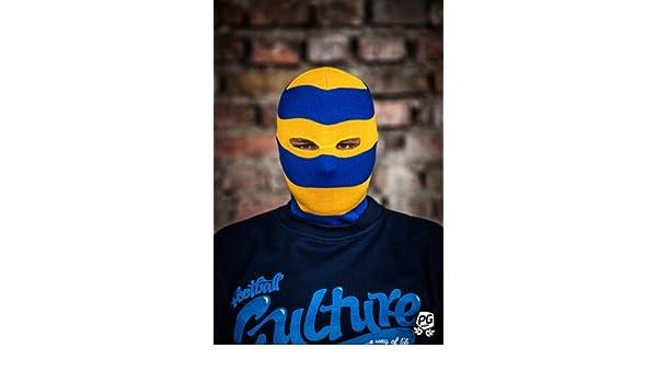 verschiedene Stile offizielle Fotos besserer Preis für PG Wear Sturmhaube 40 gelb/blau 2-Loch: Amazon.de: Sport ...