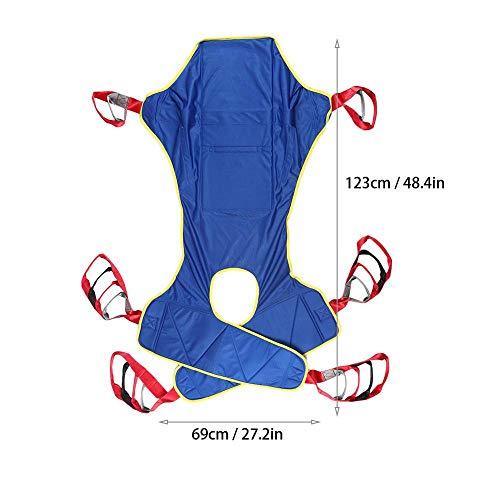 41Eq1w2uDAL - Lifting Sling Full Body Paralizado Transferencia De Pacientes Elevación De Cinturón Elevación Doméstica Elevación Sling Drive Rehabilitación Ajustable Tira De Movimiento Anciano