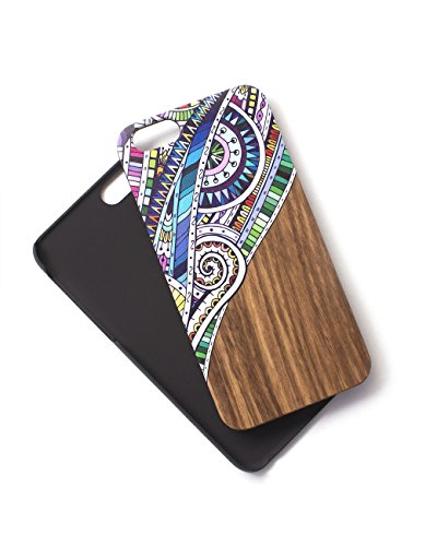 Tech Candy Woodie iPhone Fällen (Bitte beachten Sie iPhone Modell Spezifikationen), Graphic Doodlebug Woodie iPhone 6/6S Case -