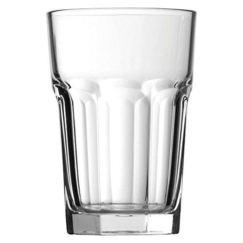 Pasabahce Casablanca 52708 - Set di bicchieri per long drink, 12 pezzi, 355 ml