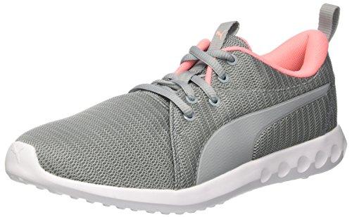 Puma Carson 2 Wns, Chaussures de Cross Femme Gris (Quarry-soft Fluo Peach)