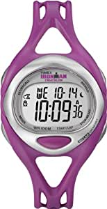 Timex Damen-Armbanduhr Timex Ironman Sleek 50 Lap Digital Quarz Plastik T5K759