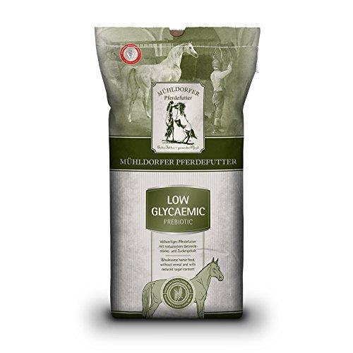 Mühldorfer Futter für Sport- und Freizeitpferde, Empfohlen bei Stoffwechselproblemen, Getreidefrei, Low Glycaemic prebiotic, 15 kg