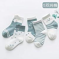 Wzbb Calcetines Calcetines para Niños Otoño Invierno Algodón Niños Bebés Calcetines Niñas Primavera Y Otoño 1-3-5 Años De Edad Recién Nacido Calcetines del Bebé