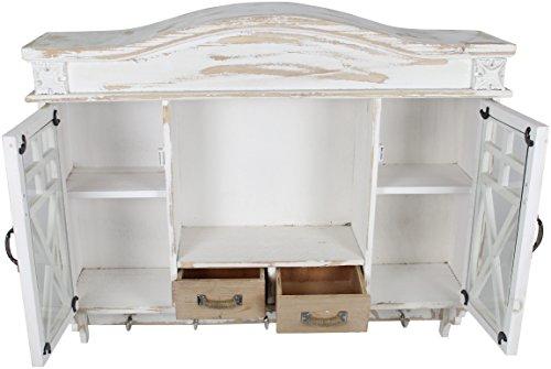 Decoline Holz Wandschrank Garderobe