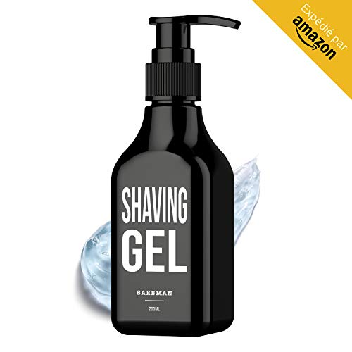 BarBMAN: Gel afeitado transparente 200ml. Afeitado