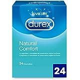 Durex Natural Comfort - Preservativos - 24 unidades