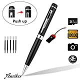 Hidden Camera Spy Pen Camera 1080p Real HD Spy Cover lens Pen Cam