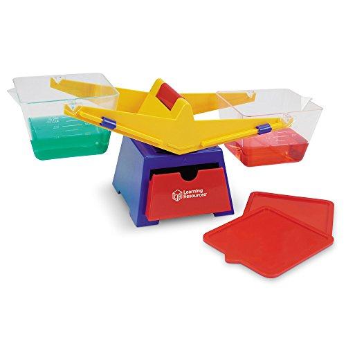 Learning Resources- Balanza de Cubos de Primaria, Color (LER1521)