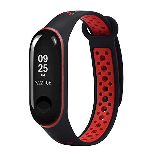 20746a2088e1 LANSKIRT Reemplazo Ventilador Correa Reloj de Pulsera Deportivo de muñeca Recambio  Brazalete Extensibles Pulsera para Xiaomi
