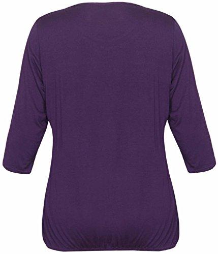 Purple Hanger - T-shirt -  Femme Violet
