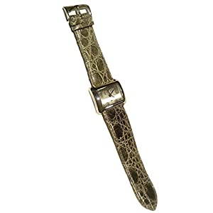 D&G 3719740140 – Reloj de piel de coco, color verde