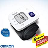 Omron HEM 6161 Fully Automatic Wrist Blood Pressure Monitor with Intellisense Technology, Cuff