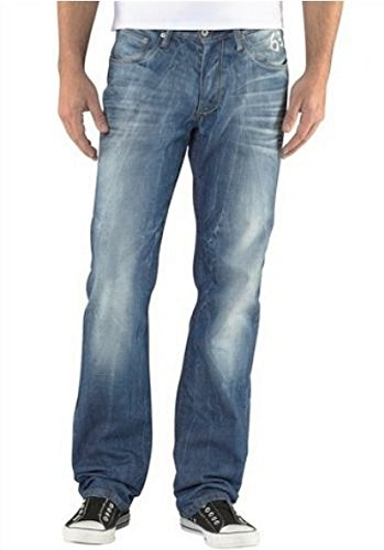 Herren Jeans von 4Wards in Blue Used Blue Used