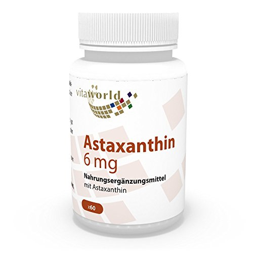 Astaxantina 6mg 60 Capsule Vita World