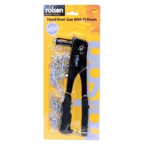 Rolson 44409 Four Head Rivet Gun Test