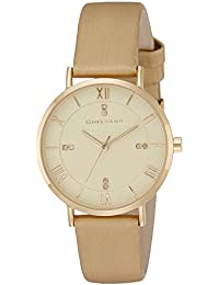 Giordano Analog Gold Dial Women's Watch - A2065-03