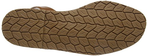 Solillas Leopardo Natural, Scarpe Col Tacco con Cinturino a T Donna Beige (Beige)
