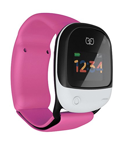 kigo nuevo/niederlän ortopédica Design. Color Rosa: resistente al agua GPS Smart Reloj para niños, con 2G/3G GSM y WiFi.
