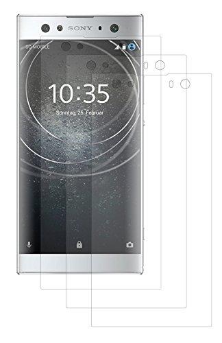 cofi1453 3X Premium Matt Bildschirm Schutz Folie Folien kompatibel mit Sony Xperia XA2 Ultra