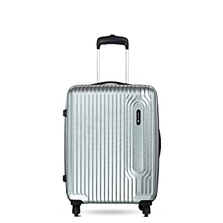 Carlton Carlton Tube – Equipaje de mano  unisex adulto plateado plata Wheel Aboard Carry On Hand Luggage