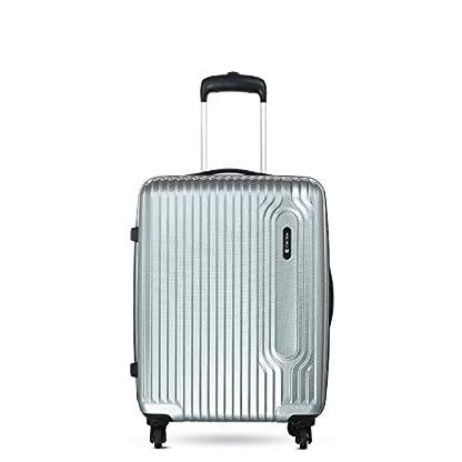 Carlton Carlton Tube – Equipaje de mano  unisex adulto plateado plata Wheel Aboard Carry On Hand Luggage