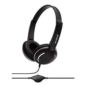 Groov-e Streetz, Kids Headphones with Volume Control, Black