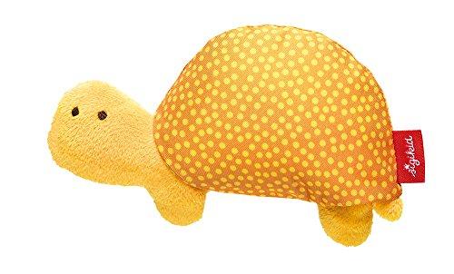 sigikid, Mädchen und Jungen, Mini-Greifling Schildkröte, Safari Tiere, Gelb/Orange, 41270