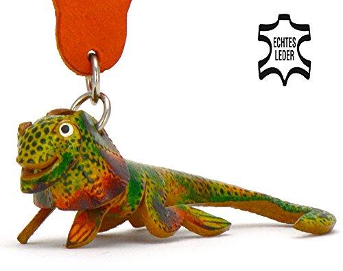 zeug Schlüsselanhänger Figur aus Leder in der Kategorie Plüschtier / plüsch von Monkimau in grün - Dein bester Freund. Immer dabei! - ca. 5cm klein (Kuba-kostüm Für Kinder)