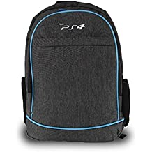TMG Storage Bag Game Backpack,PS4 Backpack Travel Game System Carrying Case Storage Bag For Sony Playstation 4 PS4 Slim PS4 Pro Systems And Accessorie (Grey)