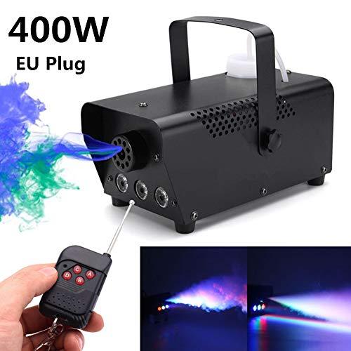 Fernbedienung tragbare Nebelmaschine, für Halloween Party Urlaub Hochzeit LED 400W drahtlose