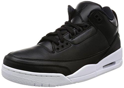 Nike Herren 136064-020 Turnschuhe, Black Schwarz/Weiß, 42 EU