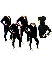 Da Tute it Sportivo Abbigliamento Nero Ginnastica Amazon Edq8ftxqn