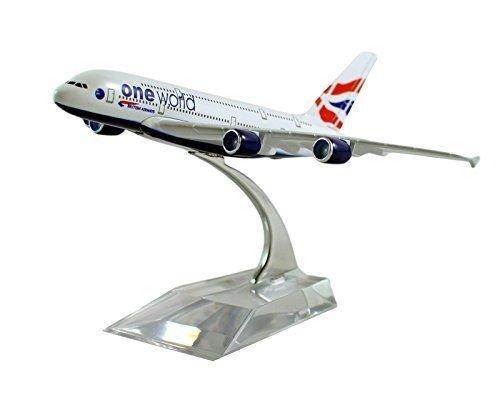 dealbox-19-cm-airbus-a380-british-airways-die-cast-metal-desk-aircraft-plane-model