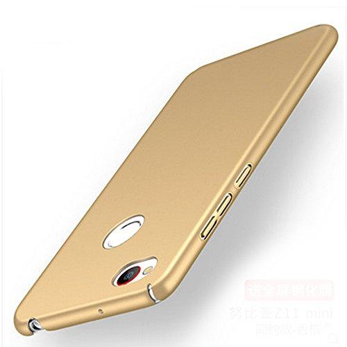 UKDANDANWEI ZTE nubia Z11 mini Hülle,extrem schlicht-dünn-Leichte PC handy Schutzhülle für ZTE nubia Z11 mini - Gold