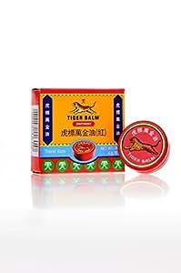 Baume du Tigre Rouge Pot 4g format de voyage Tiger Balm 4g red travel size