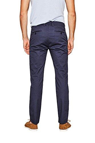 ESPRIT Collection Herren Hose Blau (Navy 400)