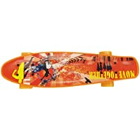 Complete 22 Inch Mini Cruiser Skateboard for Kids, Boys and Girls with High Speed Super Smooth Rebound PU Wheels