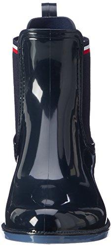 Tommy Hilfiger O1285dette 11r, Stivali da Pioggia Donna Blu (Midnight)